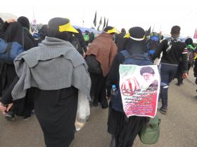 سوگواره سوم-عکس 2-محمد ابراهیمی-پیاده روی اربعین از نجف تا کربلا