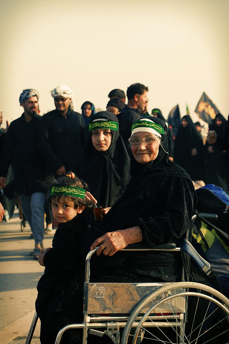 سوگواره سوم-عکس 34-محمد شاه علی-پیاده روی اربعین از نجف تا کربلا
