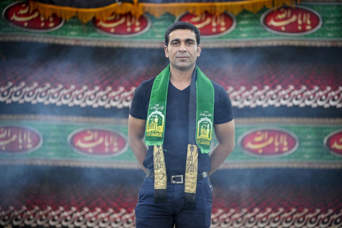 سوگواره پنجم-عکس 11-مسعود محمدی-جلسه هیأت فضای بیرونی