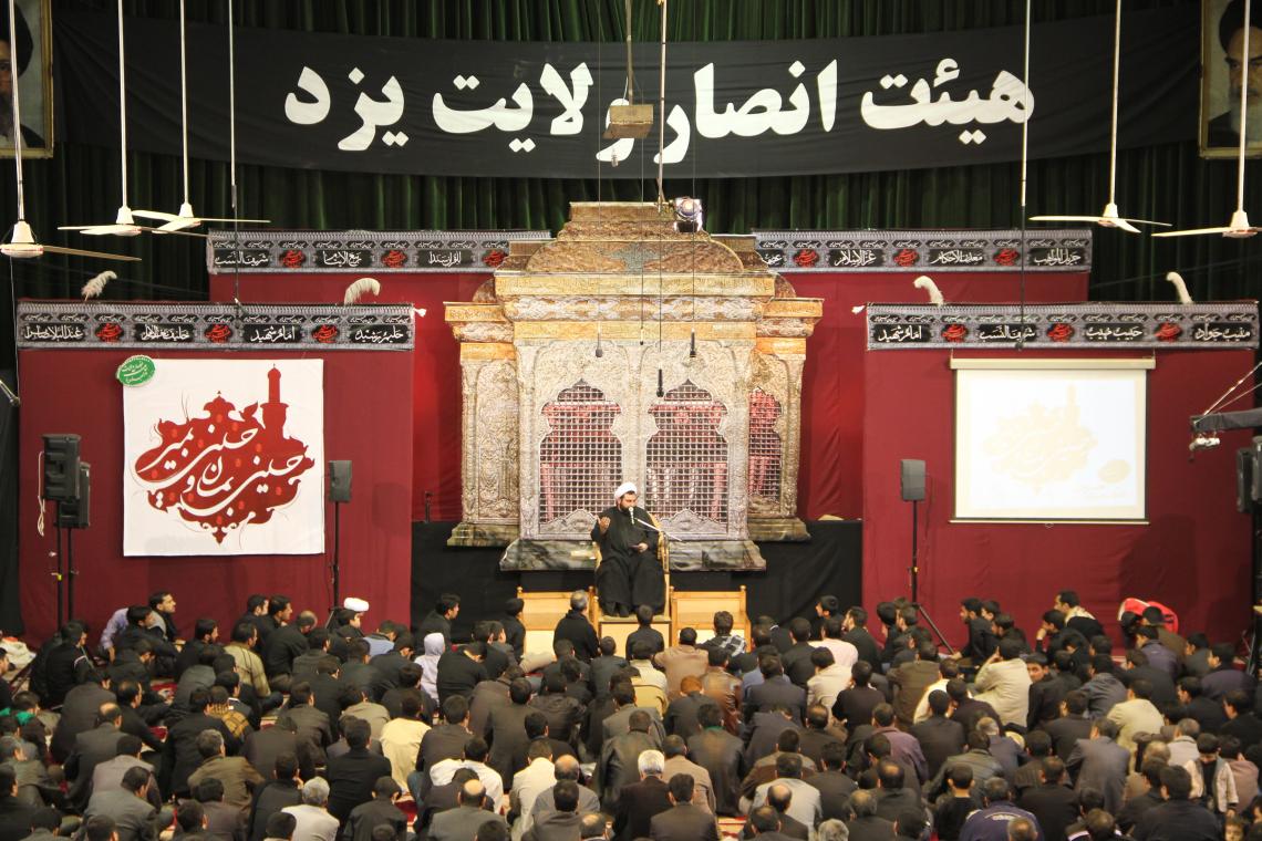 سوگواره دوم-پوستر 26-محمدحسین عزیزی نژاد-دکور هیأت