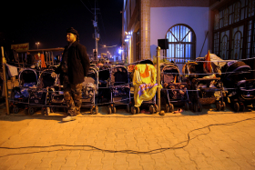 سوگواره سوم-عکس 85-حسین استوار -پیاده روی اربعین از نجف تا کربلا