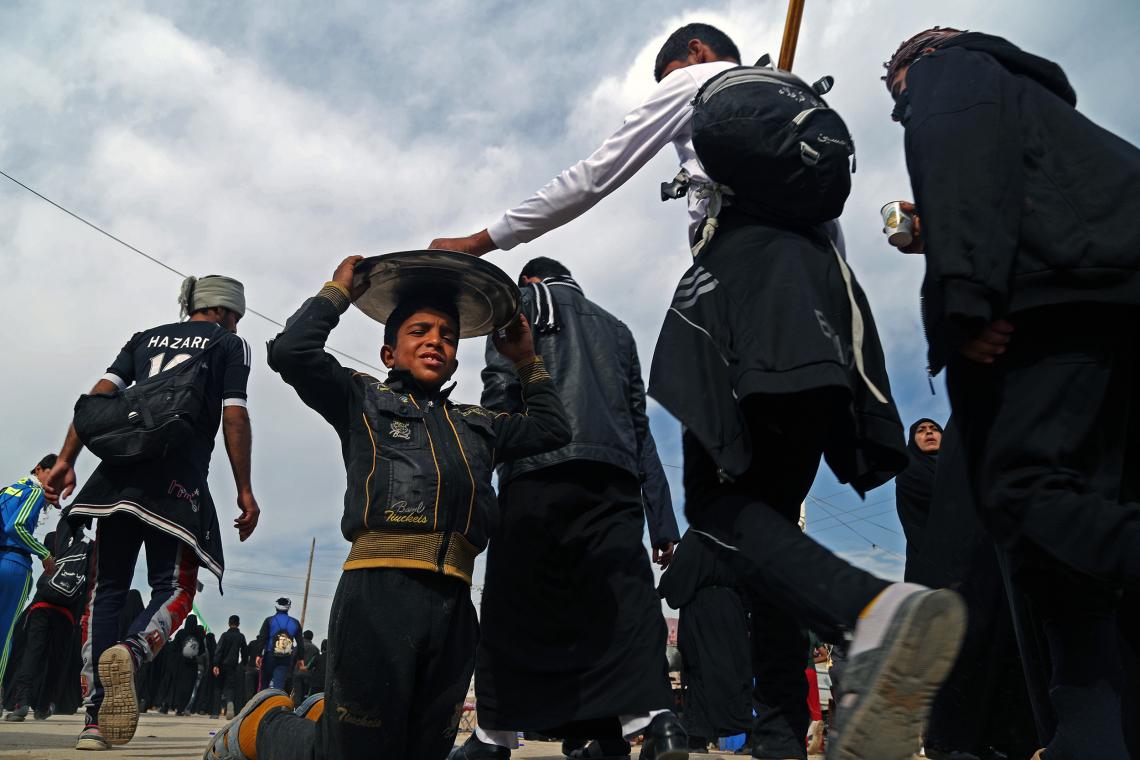 سوگواره چهارم-عکس 41-حمید عابدی-پیاده روی اربعین از نجف تا کربلا