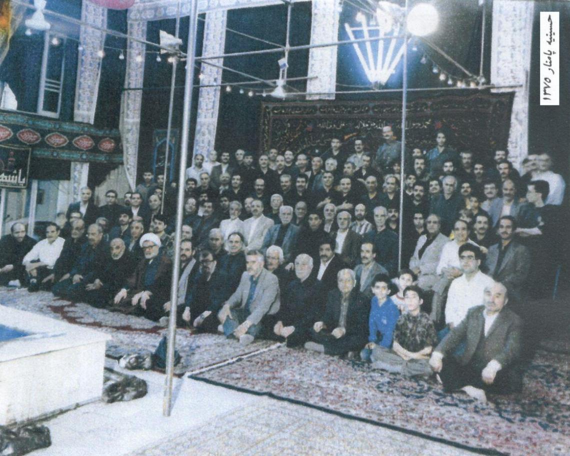 سوگواره پنجم-عکس 4-محمدحسین شکروی-جلسه هیأت قدمی و کهن