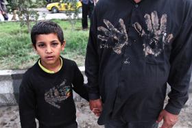 سوگواره سوم-عکس 16-امیر حسامی نزاد-آیین های عزاداری