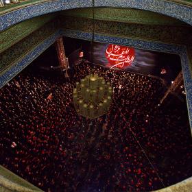 سوگواره چهارم-عکس 22-عبدالحسین بدرلو-جلسه هیأت فضای داخلی