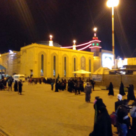 سوگواره پنجم-عکس 4-مهسا مقدم-پیاده روی اربعین از نجف تا کربلا