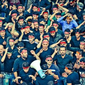 سوگواره چهارم-عکس 110-امیر حسین علیداقی-آیین های عزاداری