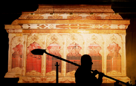 سوگواره سوم-عکس 12-محمد  آهنگر-جلسه هیأت فضای بیرونی