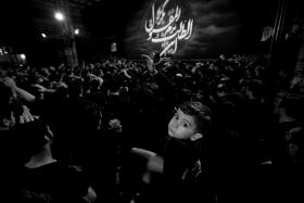 سوگواره پنجم-عکس 78-عبدالحسین بدرلو-جلسه هیأت فضای بیرونی