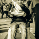 سوگواره سوم-عکس 19-امید نائینی-پیاده روی اربعین از نجف تا کربلا