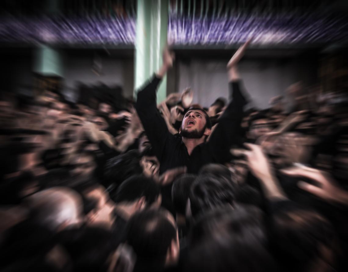 سوگواره پنجم-عکس 10-مرتضی فیض-جلسه هیأت