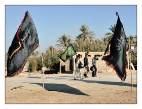سوگواره دوم-عکس 17-حمید رضا حبیبی محب سراج-پیاده روی اربعین از نجف تا کربلا