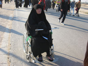 سوگواره دوم-عکس 61-محمد کشاورز-پیاده روی اربعین از نجف تا کربلا