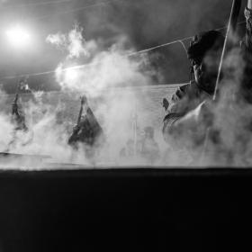 سوگواره پنجم-عکس 79-داود ايزدپناه-جلسه هیأت فضای بیرونی