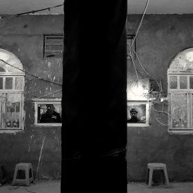 سوگواره سوم-عکس 97-حسین استوار -پیاده روی اربعین از نجف تا کربلا