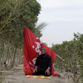 سوگواره پنجم-عکس 128-علی دهقان-پیاده روی اربعین از نجف تا کربلا