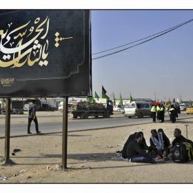 سوگواره سوم-عکس 5-سید مصطفی عطاری-پیاده روی اربعین از نجف تا کربلا