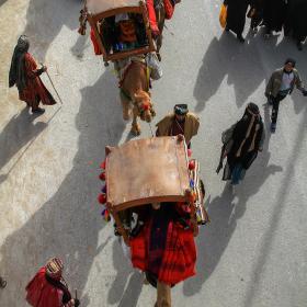 سوگواره پنجم-عکس 44-مجید حجتی-پیاده روی اربعین از نجف تا کربلا