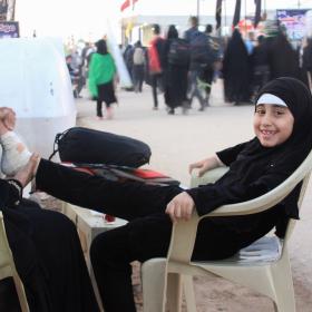 سوگواره سوم-عکس 33-احمد قارداش پور طرقی-پیاده روی اربعین از نجف تا کربلا