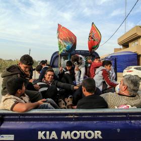 سوگواره پنجم-عکس 70-محمد حسن صلواتی-پیاده روی اربعین از نجف تا کربلا