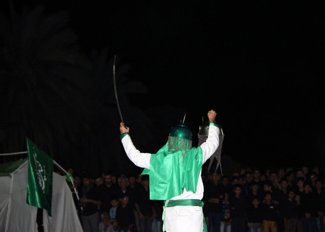 سوگواره چهارم-عکس 1-حجت الله جعفرپور-آیین های عزاداری