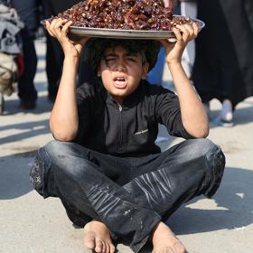 سوگواره چهارم-عکس 1-محمد امین محمودی-پیاده روی اربعین از نجف تا کربلا