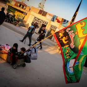 سوگواره چهارم-عکس 10-محمد رضا میثمی-پیاده روی اربعین از نجف تا کربلا