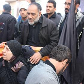 سوگواره سوم-عکس 6-امیر ورزدار-پیاده روی اربعین از نجف تا کربلا