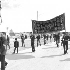 سوگواره چهارم-عکس 8-محمد صابر نژاد شاهرخ ابادی-آیین های عزاداری