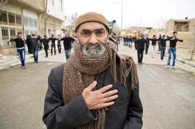 سوگواره دوم-عکس 4-سلیمان گلی-پیاده روی اربعین از نجف تا کربلا