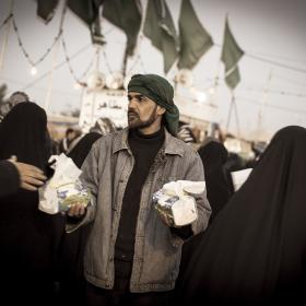 سوگواره سوم-عکس 11-علی دهقان-پیاده روی اربعین از نجف تا کربلا