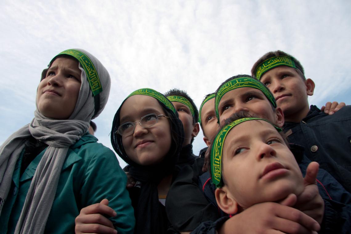 سوگواره سوم-عکس 10-محمود بازدار-جلسه هیأت فضای بیرونی