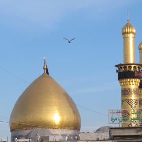 سوگواره دوم-عکس 4-علیرضا حصارکی-پیاده روی اربعین از نجف تا کربلا