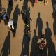سوگواره چهارم-عکس 37-فائزه  بختیاری-پیاده روی اربعین از نجف تا کربلا