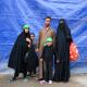 سوگواره پنجم-عکس 45-فرشته ادب جو-پیاده روی اربعین از نجف تا کربلا