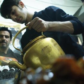 سوگواره سوم-عکس 19-محمد رهنما فلاورجانی-جلسه هیأت فضای بیرونی