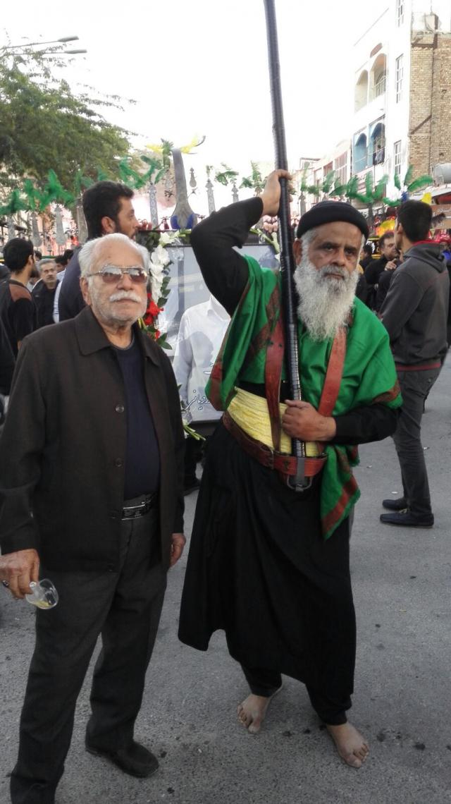 سوگواره چهارم-عکس 22-سید محمد حسین موسوی نژاد-آیین های عزاداری