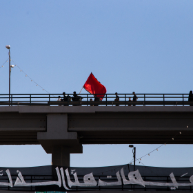 سوگواره چهارم-عکس 24-علی  حسن زاده-پیاده روی اربعین از نجف تا کربلا