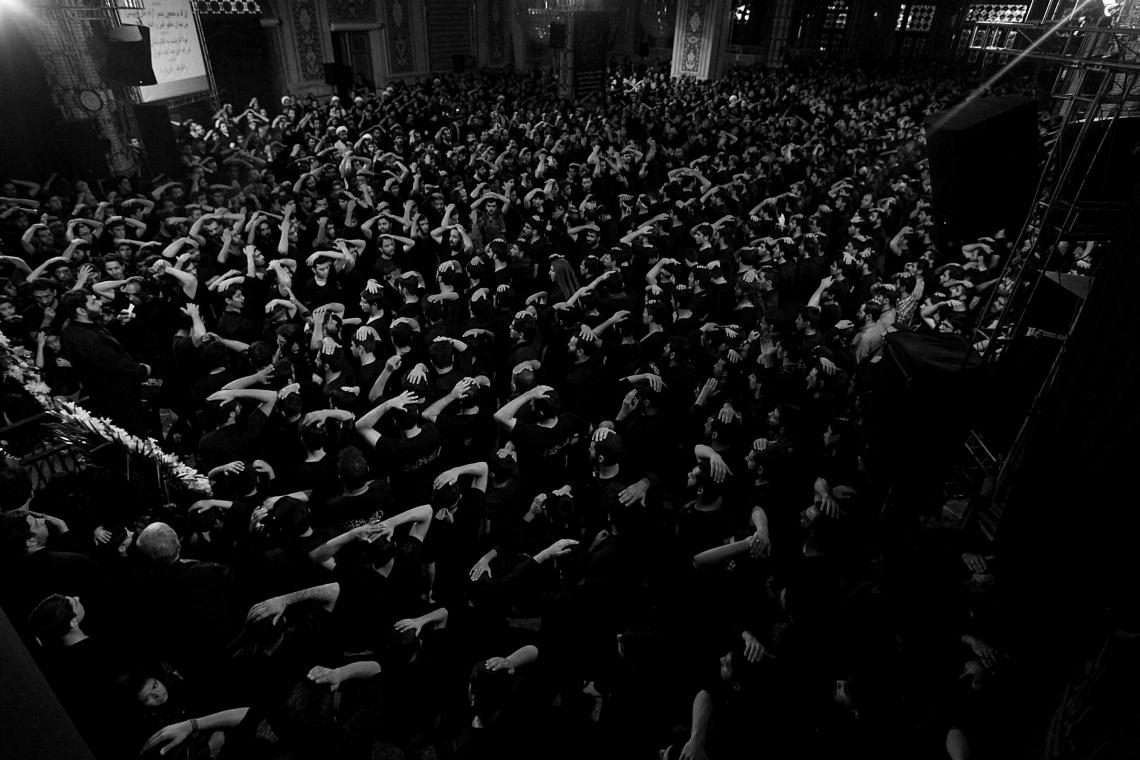 سوگواره پنجم-عکس 80-عبدالحسین بدرلو-جلسه هیأت فضای بیرونی