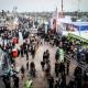 سوگواره پنجم-عکس 32-سید محمود حسینی-پیاده روی اربعین از نجف تا کربلا