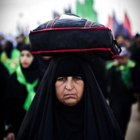 سوگواره سوم-عکس 54-امیر امیدنژاد-پیاده روی اربعین از نجف تا کربلا