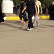 سوگواره پنجم-عکس 9-ساجده اسد اله پور-پیاده روی اربعین از نجف تا کربلا