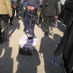سوگواره دوم-عکس 136-محمد کشاورز-پیاده روی اربعین از نجف تا کربلا
