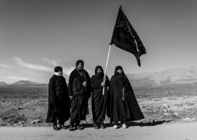 سوگواره سوم-عکس 6-پیمان حمیدی پور-پیاده روی اربعین از نجف تا کربلا