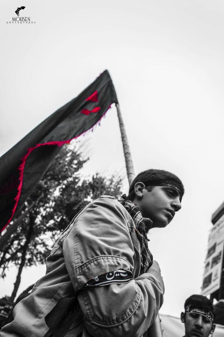 سوگواره پنجم-عکس 11-محسن کارآمد-پیاده روی اربعین از نجف تا کربلا