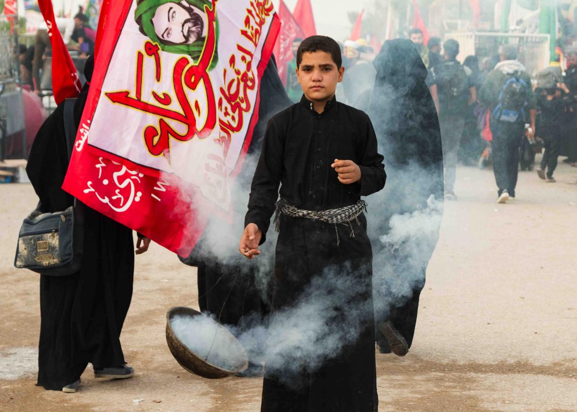 سوگواره پنجم-عکس 53-علی  حسن زاده-پیاده روی اربعین از نجف تا کربلا