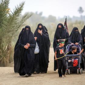 سوگواره پنجم-عکس 67-محمد حسن صلواتی-پیاده روی اربعین از نجف تا کربلا