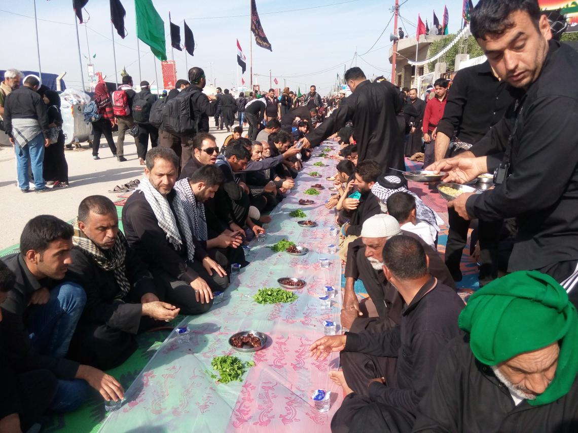 سوگواره چهارم-عکس 8-هادی ابوطالبی-پیاده روی اربعین از نجف تا کربلا