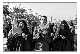 سوگواره پنجم-عکس 2-عمار رحمانی-پیاده روی اربعین از نجف تا کربلا