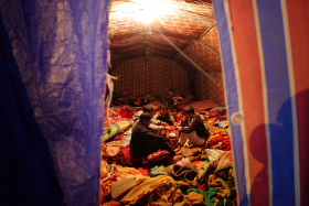 سوگواره سوم-عکس 96-حسین استوار -پیاده روی اربعین از نجف تا کربلا